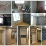 Ремонт комнаты под ключ: укладка ламината, натяжной потолок, утепление стен, установка дверей, шкаф-купе на заказ в Ижевске, отзыв